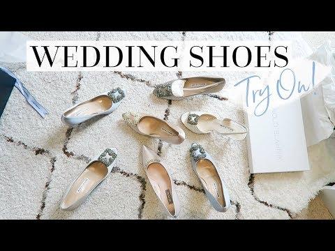 HELP ME PICK MY WEDDING SHOES! | VLOG