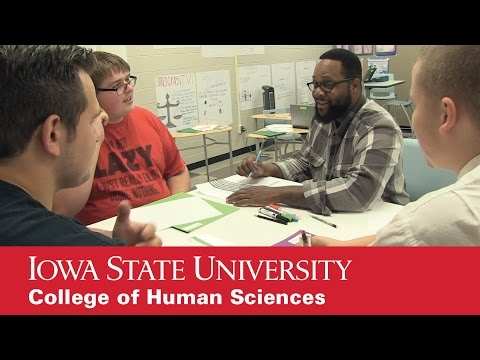 Iowa State alumni making big impact at Scavo Alternative High School