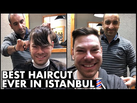 Best Haircut EVER in Istanbul, Turkey💈