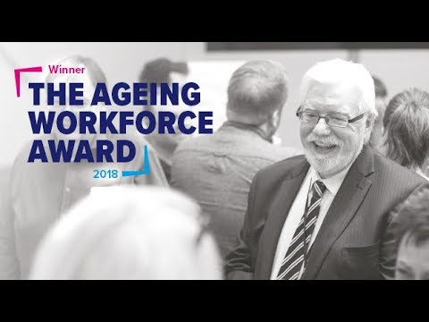 Aviva win the BITC Ageing Workforce Award 2018