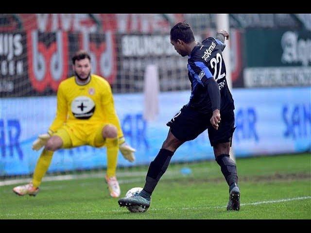 2015-2016 - KV Kortrijk - Club Brugge - GOAL José Izquierdo