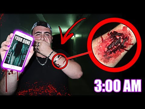 (SIRI ATTACKED ME) DO NOT TALK TO SIRI AT 3:00 AM | ASKING SIRI YOUR QUESTIONS AT THE HAUNTED TUNNEL