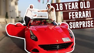 FERRARI BIRTHDAY SURPRISE GIFT!! (18th Birthday)