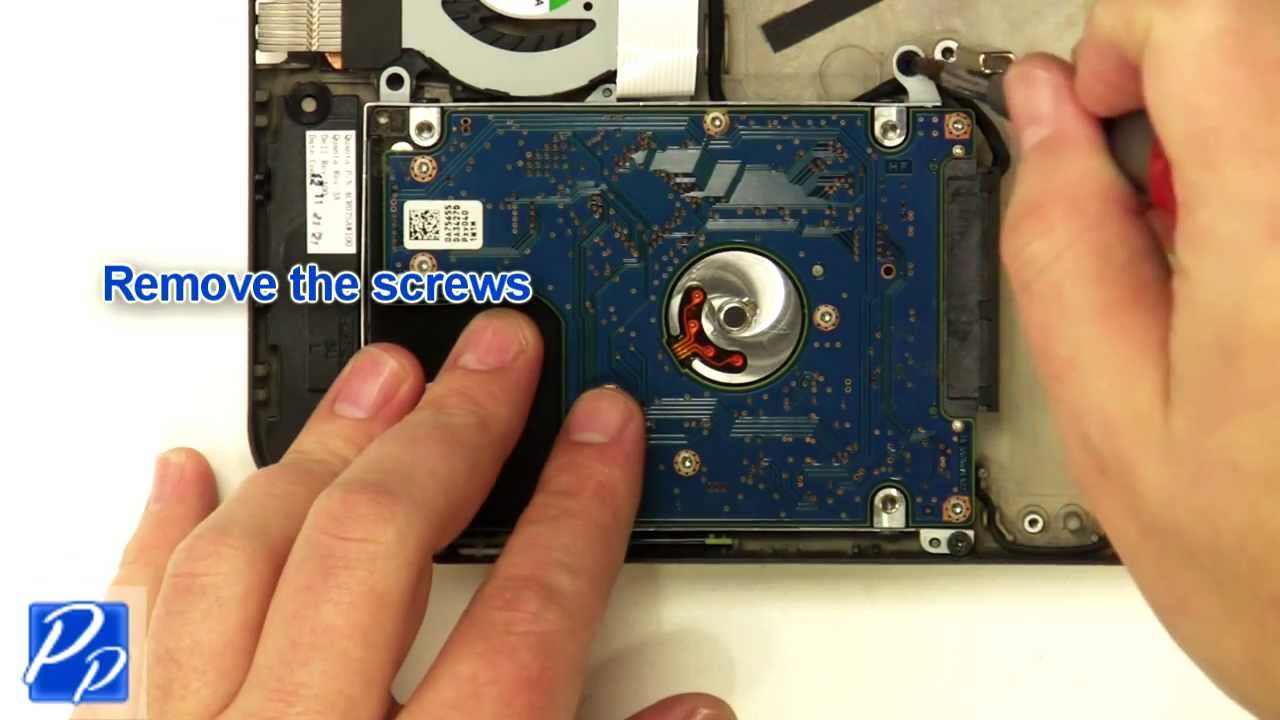 how to replace dell inspiron hard drive