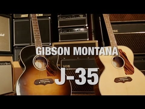 Gibson Montana J-35 Overview
