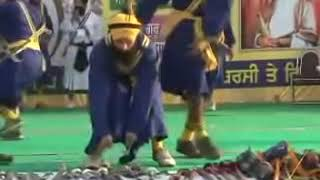 First International Gatka Competition at Gurduara Yadgar Sahib jarg 18.mp4
