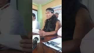 Press Conference for the Shiwiar, Sapara, Achuar, Conaia, and Confeniae