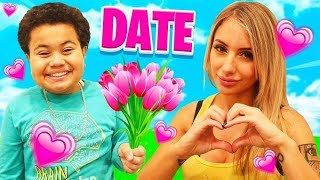 My Little Brother Goes On A Date With H...