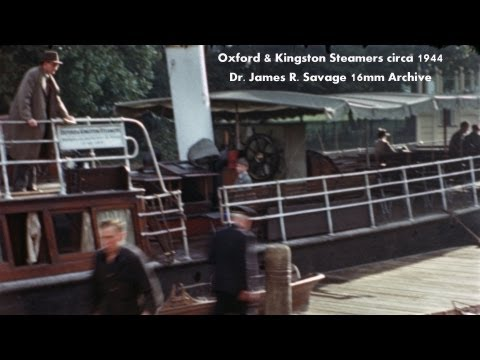 1944 OXFORD & KINGSTON STEAMERS, UK