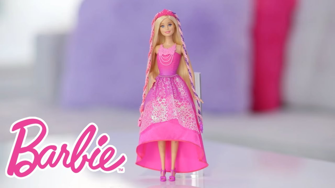 Create Fabulous Twisted Hairstyles With Barbie Endless Hair Kingdom Snap N Style Doll