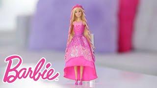 Erstellen Fabelhafte Twisted Frisuren mit Barbie Endlosen Haare Königreich Snap 'N Style Puppe | Dreamtopia