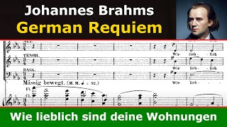 Brahms Requiem - Wie lieblich sind deine Wohnungen (Gardiner)
