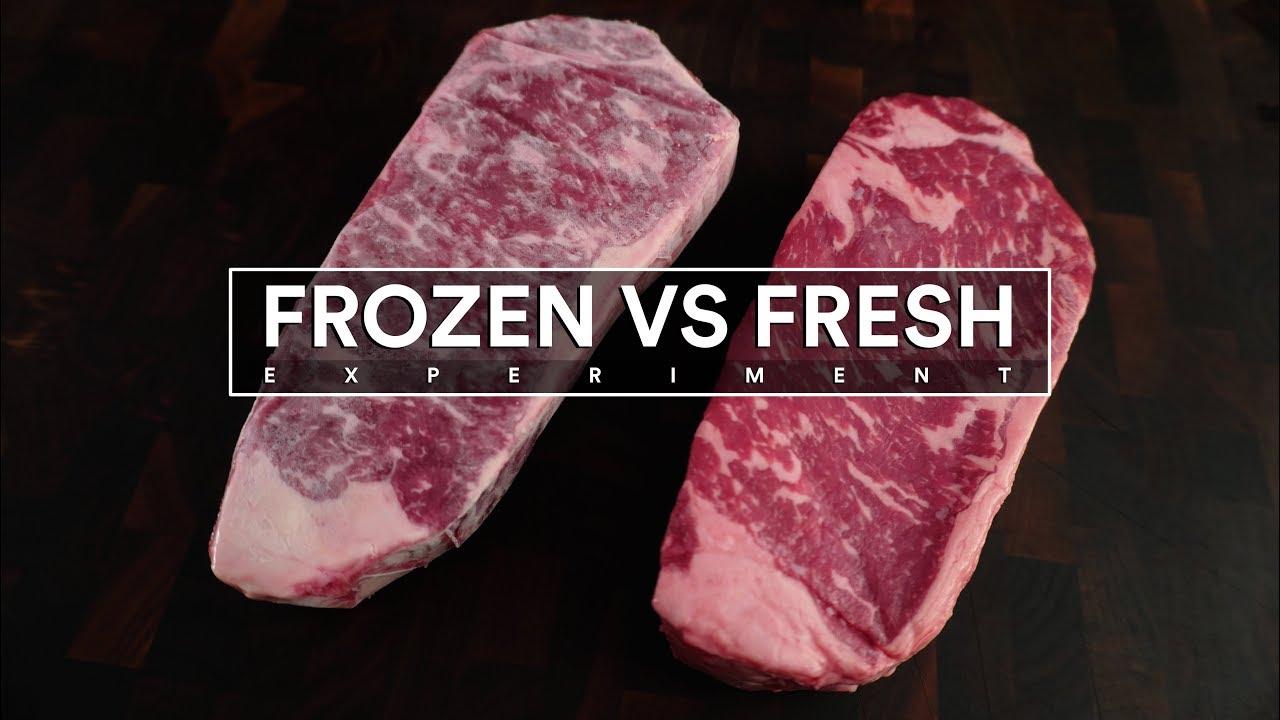 Frozen Steak Vs Fresh