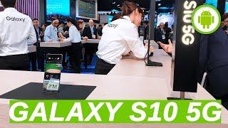 SAMSUNG GALAXY S10 5G: la demo di live streaming