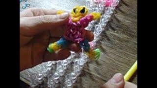 Плетение из резинок человечка