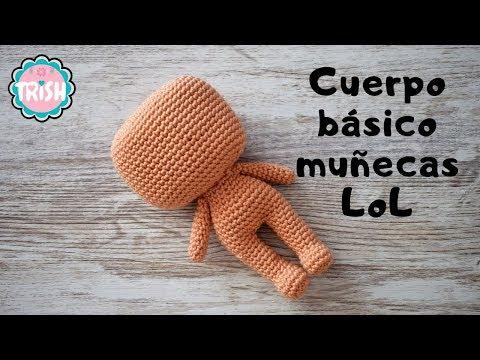 LOL (muñequita) patrón completo en castellano | Patrones amigurumi ... | 360x480