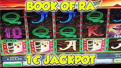 Book of Ra JACKPOT auf 1€ - Freispiele Novoline Online Casino HD