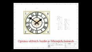 Věžní hodiny v Trhových Svinech