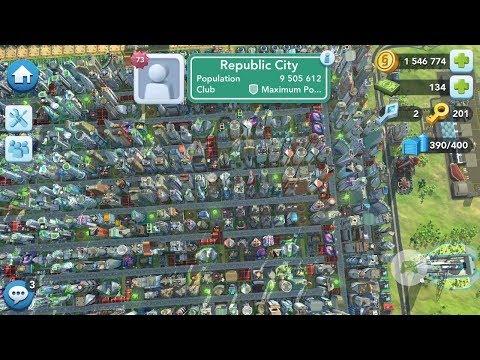 9.5 Million Maximum Population Megalopolis Simcity Buildit