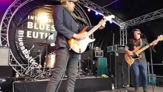Bluesfest Eutin 2016  Chris Grey & The BlueSpand (DK) Swingin' funky Fusion-Blues