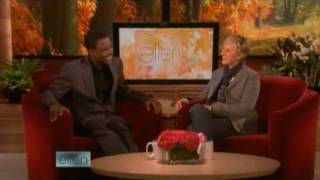 Chris Rock Interview on Ellen 10/28/08