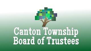 Gambar cover Canton Township Board of Trustees April 9, 2019