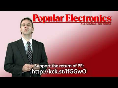 Popular Electronics Magazine Re-Launch Video