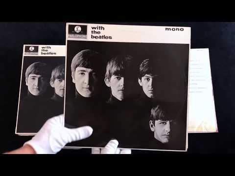 Vintage Beatles UK Vinyl LP Collection - A Detailed Look