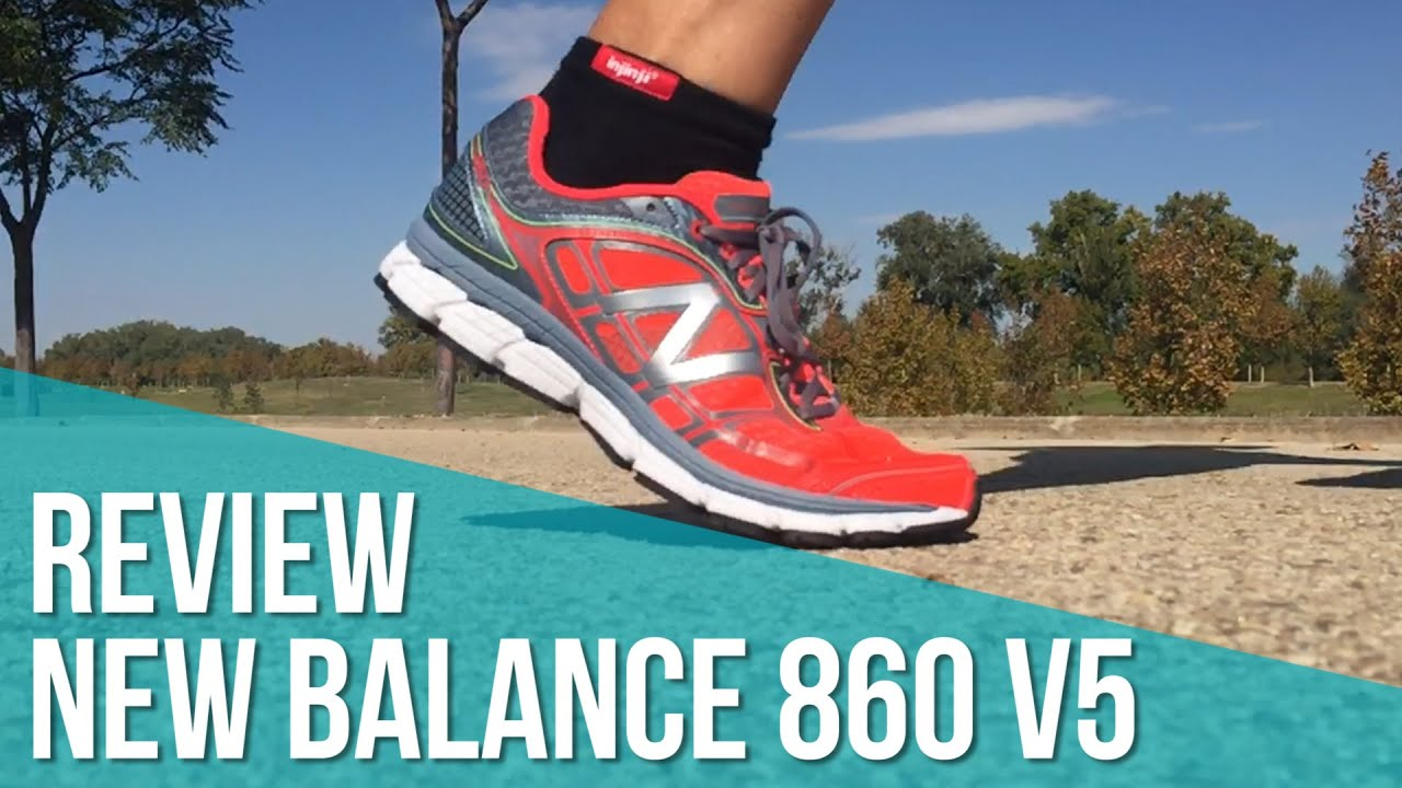 new balance 860 v5 review