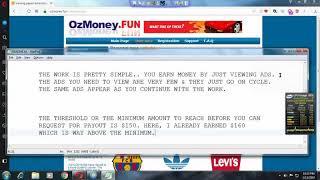 OzMoney.fun - SCAM WEBSITE