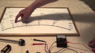 How to Read a Multimeter - How to Use an Analog Multimeter