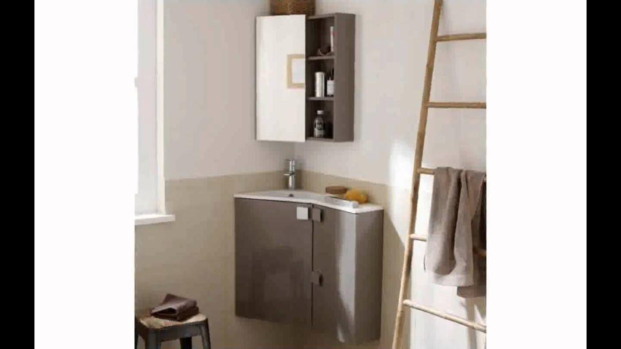 d coration de petite salle de bain youtube. Black Bedroom Furniture Sets. Home Design Ideas