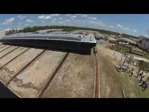 Launch of Florida Marine Transporters Environmentally Friendly Tank Barge