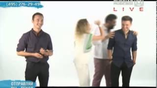 Алексей Чумаков и Юлия Ковальчук в прямом эфире Music Box