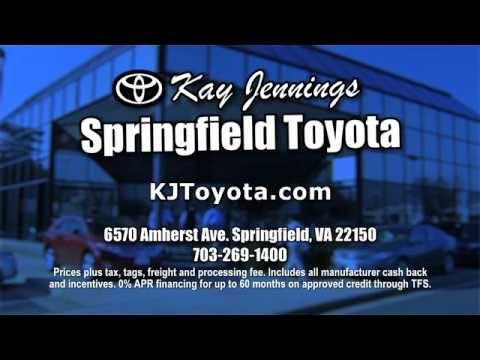 Amazing Kay Jennings Springfield Toyota   January Incentives