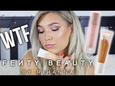 Pagaliau išbandžiau.. NErekomenduoju? | Pirmi Naujų Fenty Beauty Produktų Įspūdžiai + Wear Test thumbnail