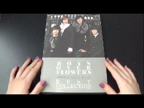 Unboxing Boys Over Flowers Original Sound Track Best Collection Korean Compilation Album