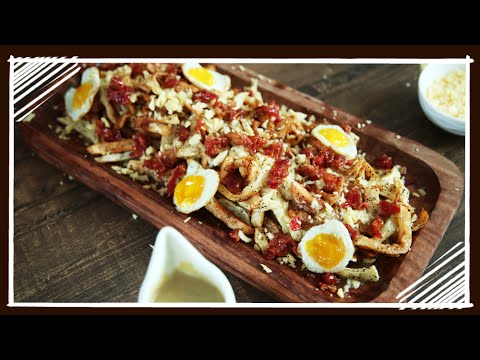 Canadian Breakfast - How To Make Poutine - Nick Saraf's Foodlog