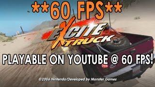 [60 FPS] Dolphin Emulator 4.0-5441 | Excite Truck [1080p HD] | Nintendo Wii