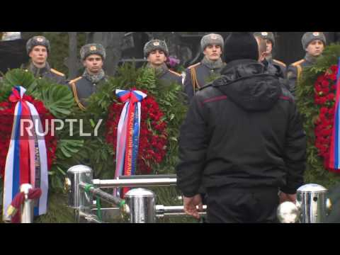 Russia:Funeral for Russian diplomat Vitali Churkin marks final farewell