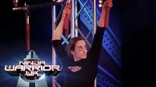 Brendan Riley's AMAZING injured run!   Ninja Warrior UK