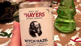 Thayers Witch Hazel Aloe Vera Formula Rose Petal CRUELTY FREE.. ALCOHOL FREE