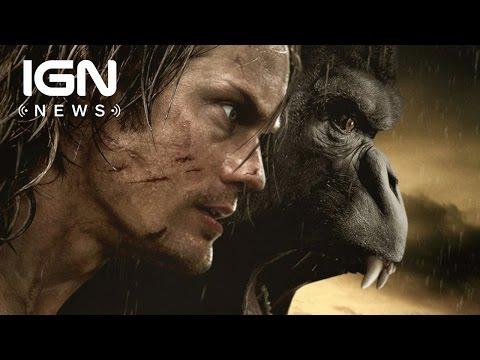 First Look at Alexander Skarsgård as Tarzan and Margot Robbie as Jane - IGN News