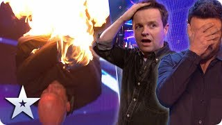 BGT's Most DANGEROUS acts EVER! | Britain's Got Talent