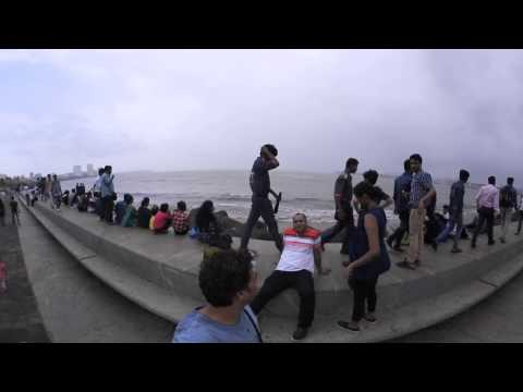 Mumbadevi Temple and Marine Drive VR 360