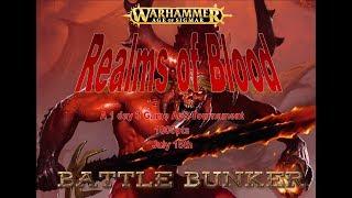 Battle Bunker Live - Realms of Blood:Game 3 Order vs Death