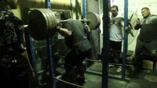jelson 270kg squat