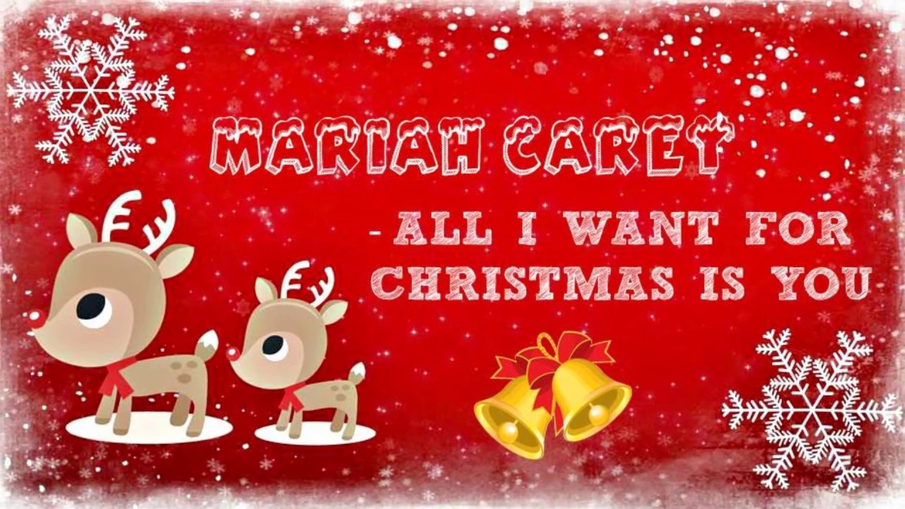 what christmas songs did mariah carey write all i want for christmas