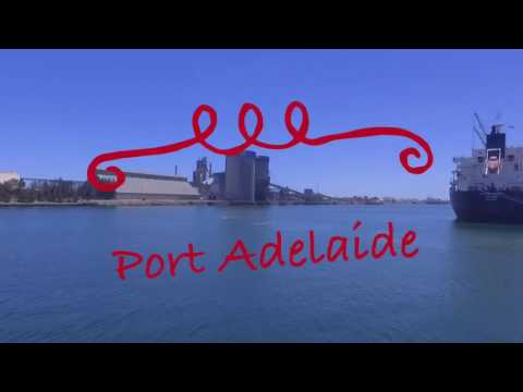 Drone footage Outer Harbour and Port Adelaide