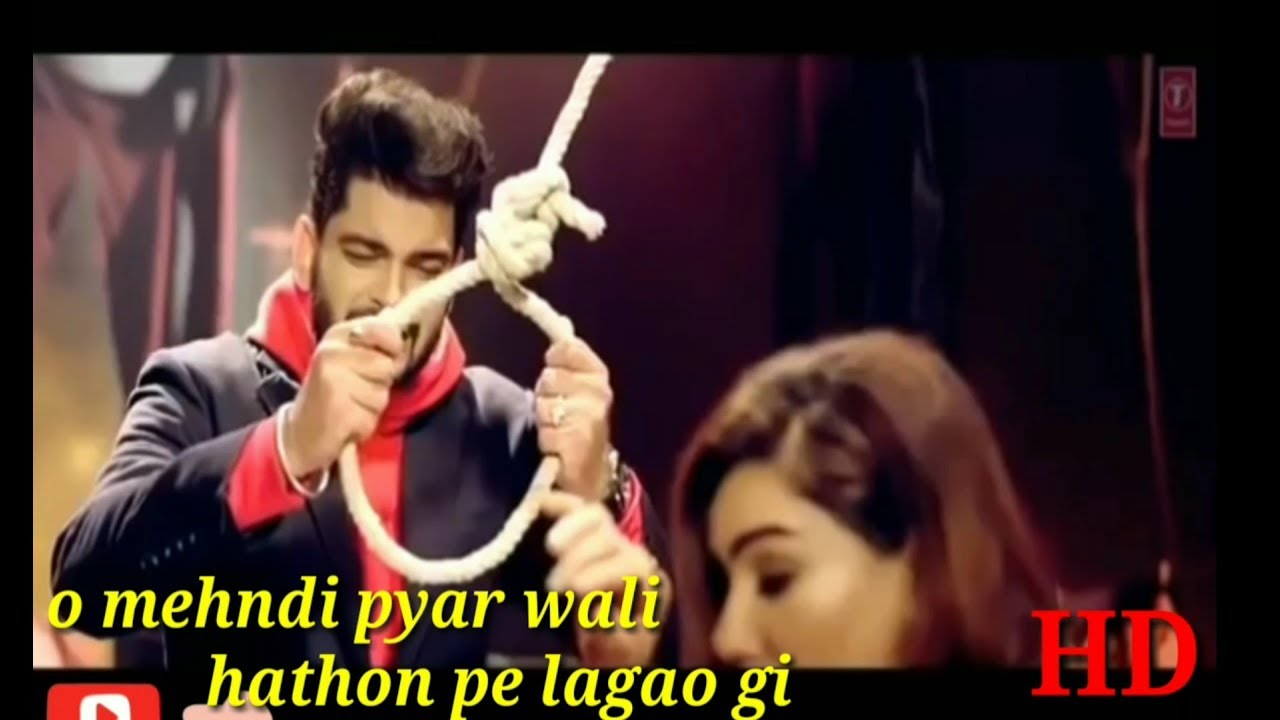 Mehndi pyar wali hathon mein lagao gi video song